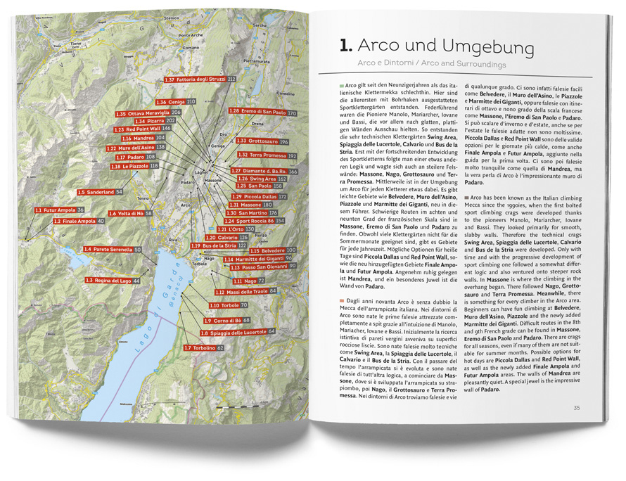 mapka a popis oblasti