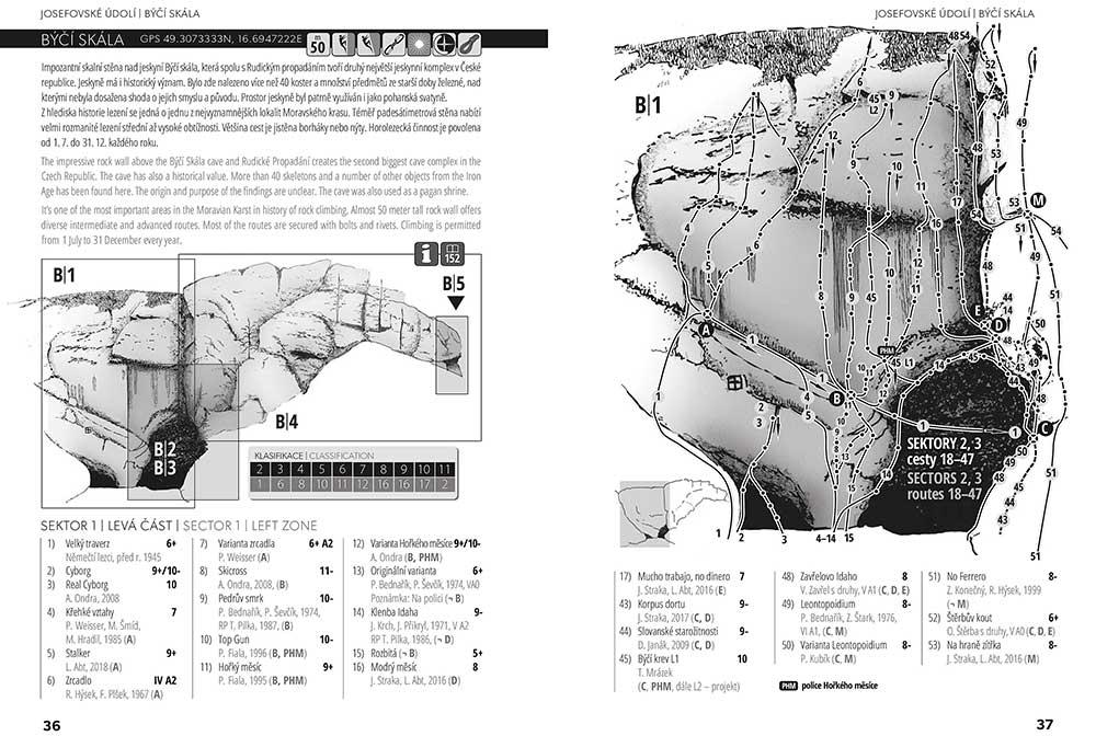 Moravské skály III - Býčí skála