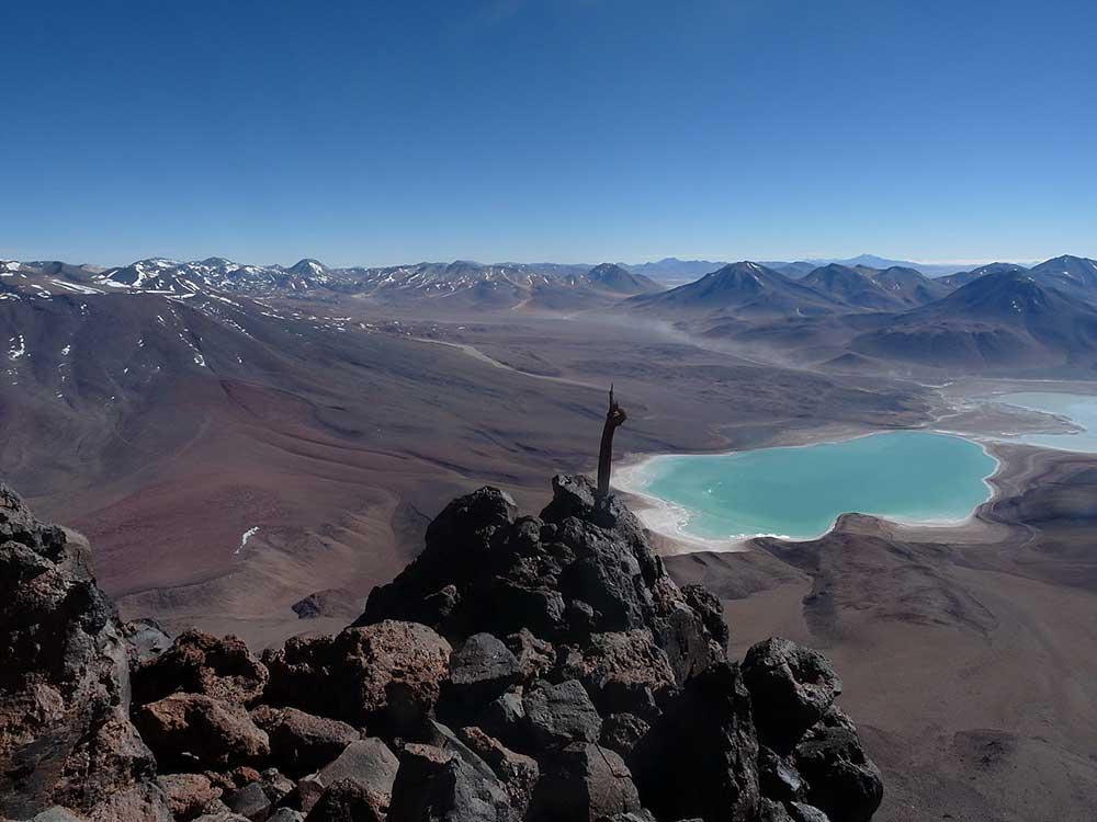 Apachetas, Inkové měli takto značenou cestu k vrcholu