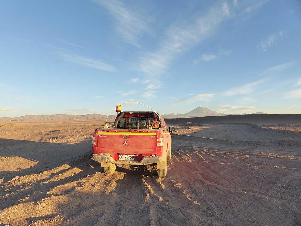 Ztraceni v poušti Atacama