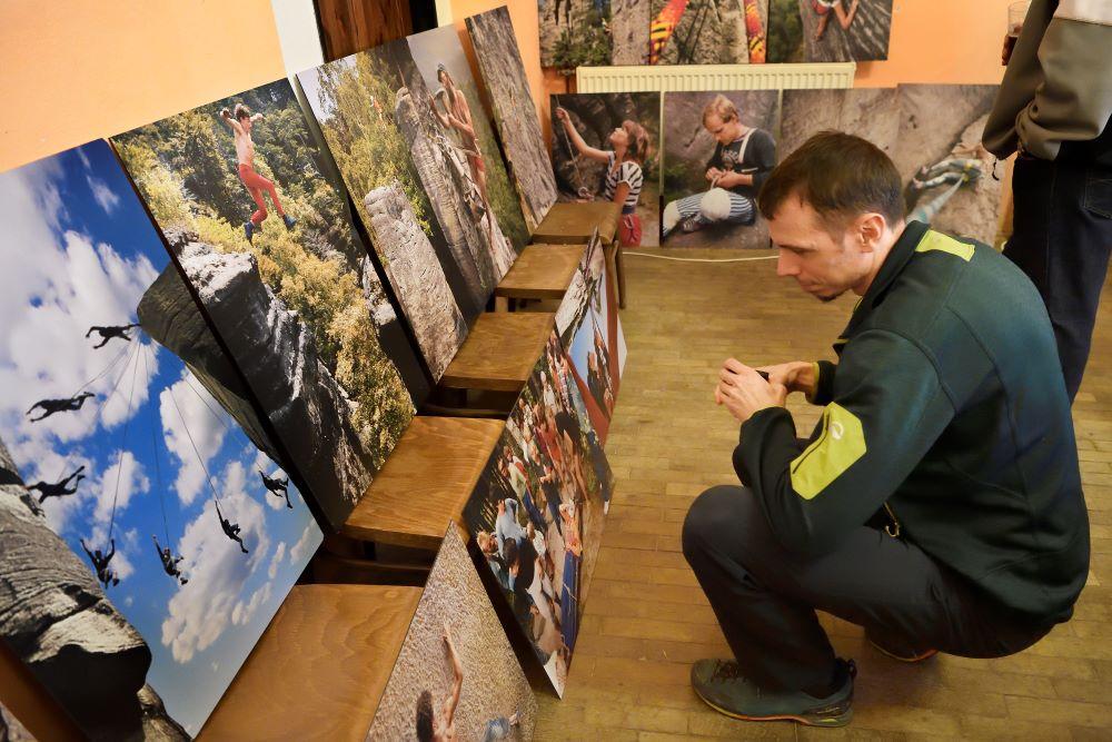 Vlčkova výstava Olešnice