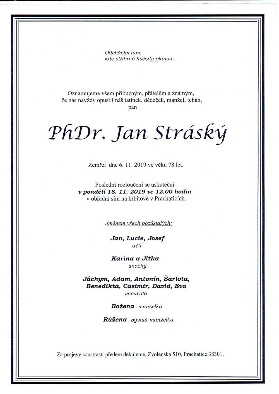 Parte Jana Stráského