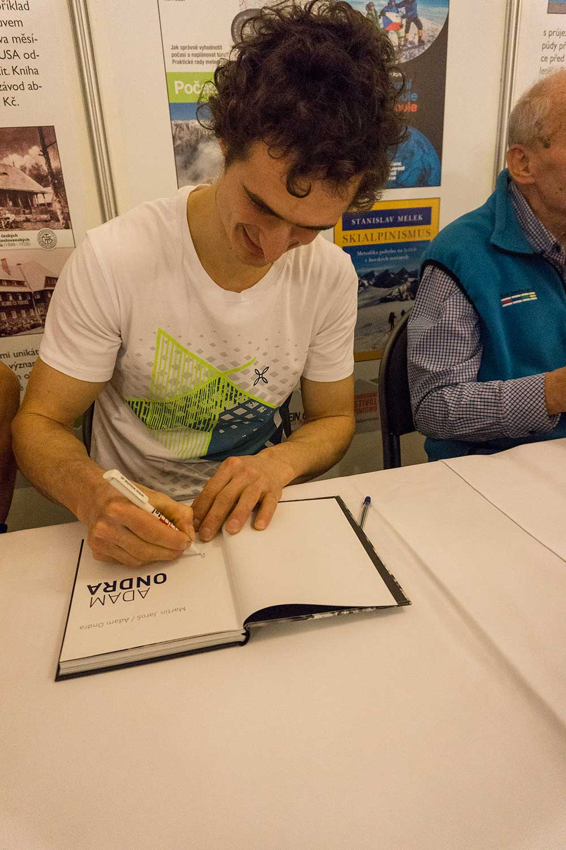 Autogramiáda Adama Ondry