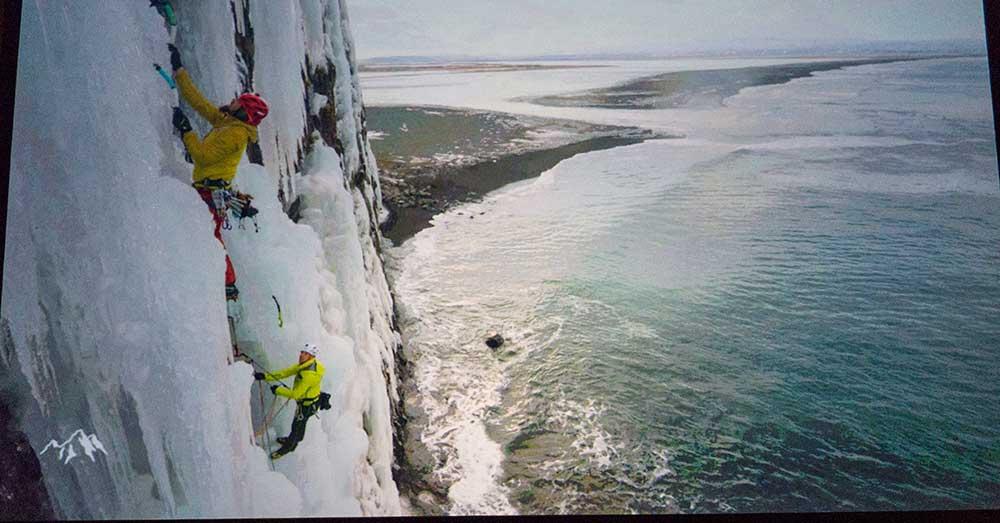Ledy nad mořem