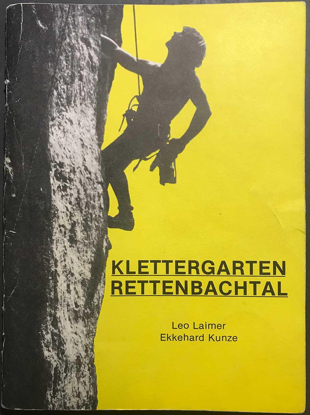 Průvodce Klettergatren Rettenbachtal
