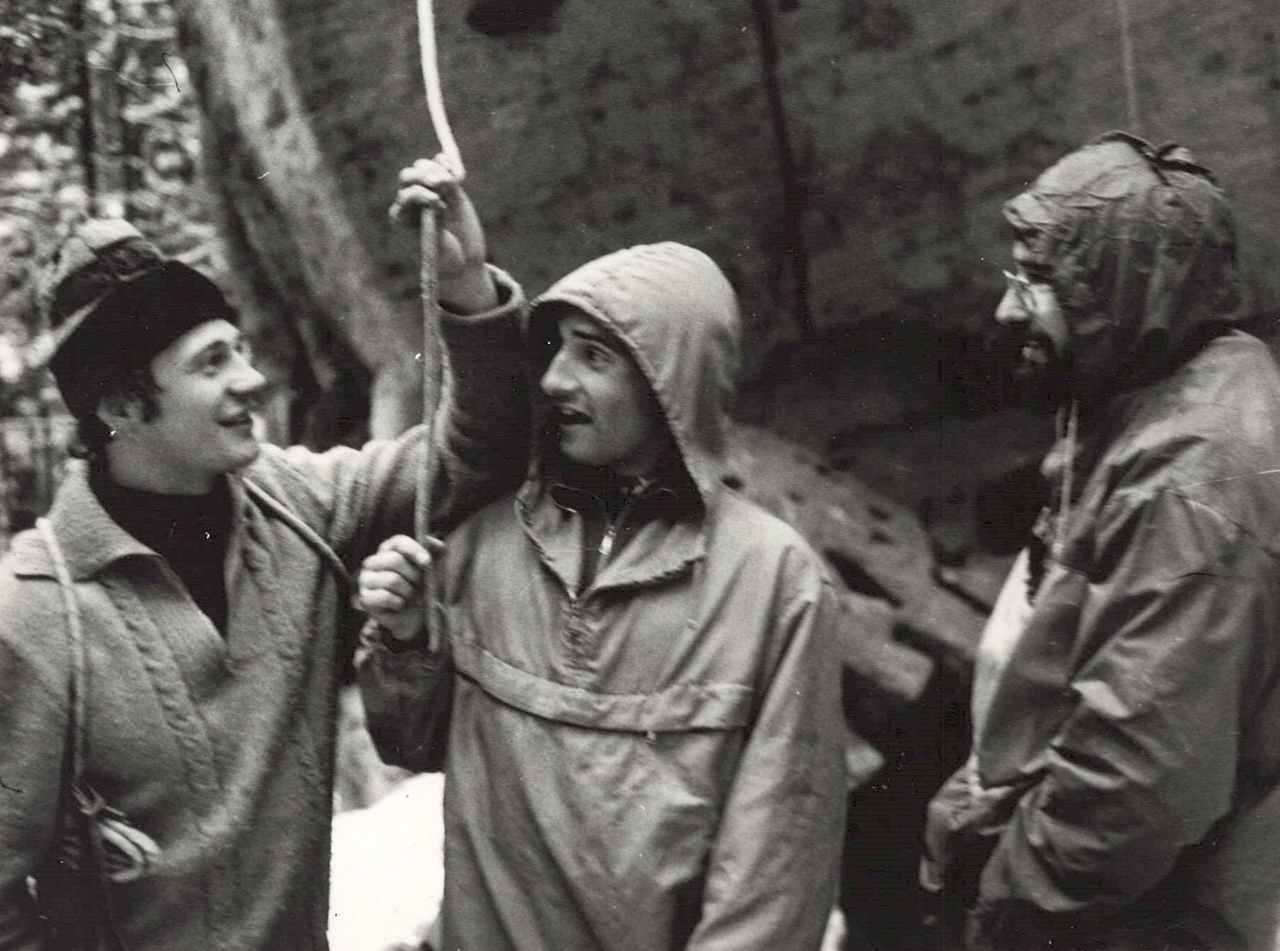 Zleva: Mirek Bena, Igor Koller, Osif