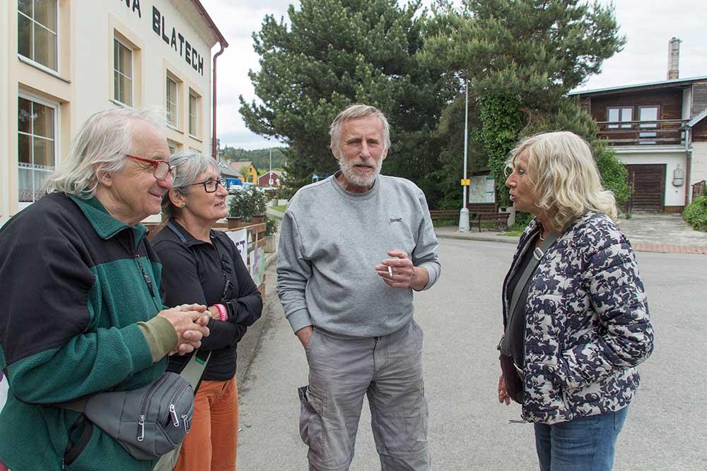 Jan Havel, Marie Čížková, Milan Doubner