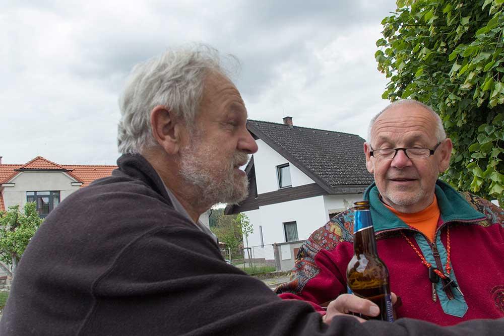 Karel Jerhot a Zdeněk Vraný