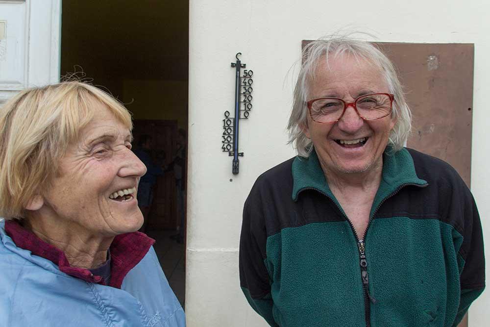 Jan Gusta Havel a Zorka Novotná
