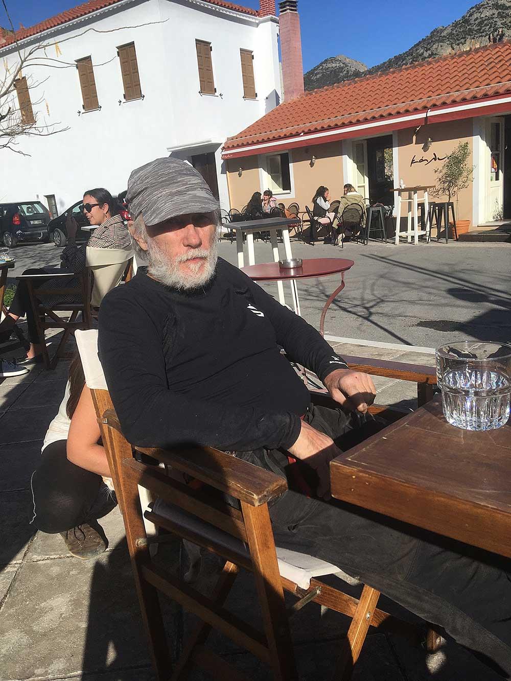 Kavárna v Leonidiu