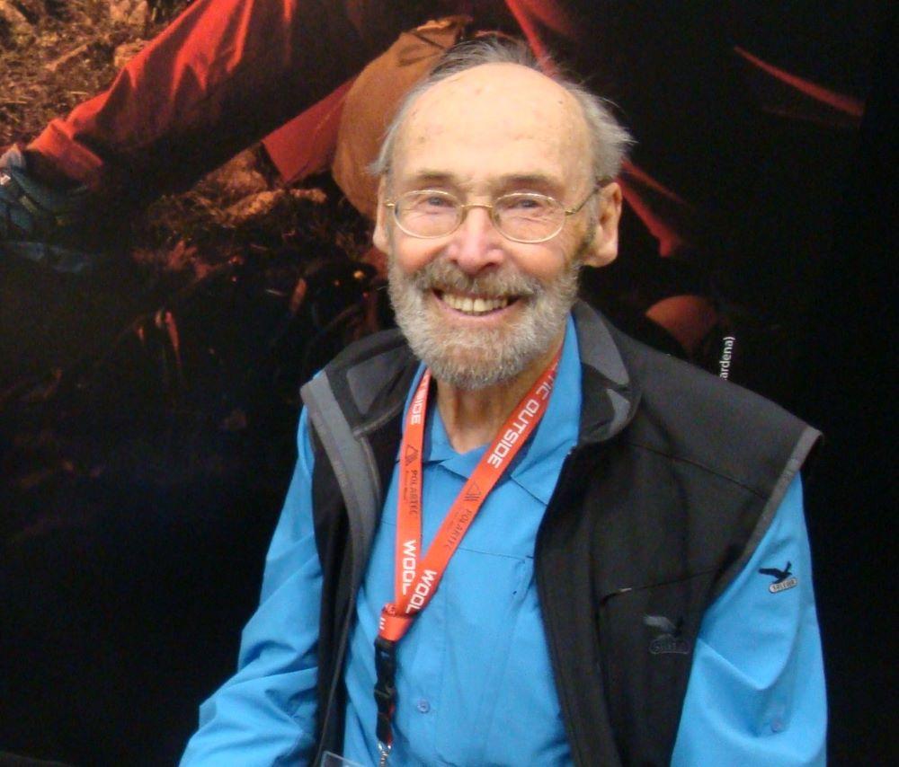 Mr. SALEWA Hermann Huber na ISPO 2015