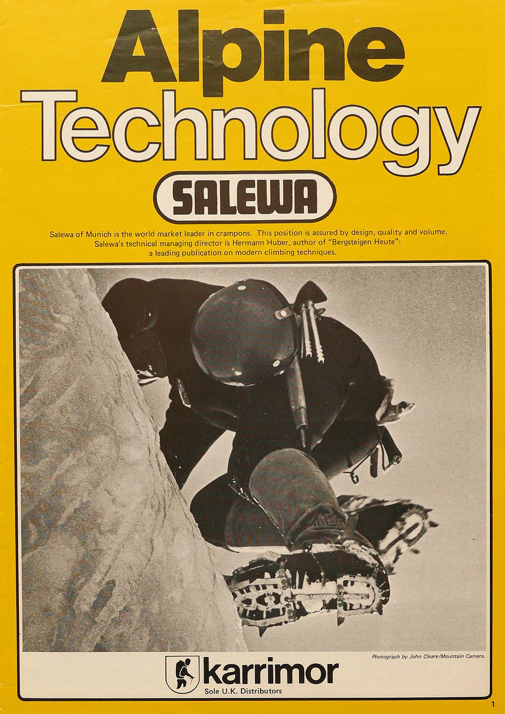 Karrimor alpine Technology