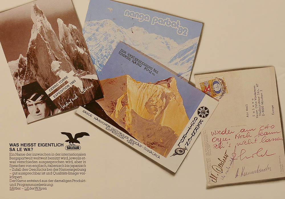Salewa brožura 50. leta zadni strana