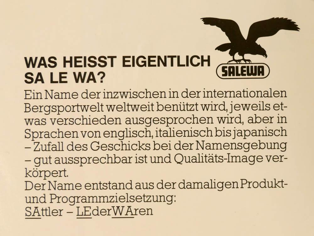 Co znamená SA LE WA?