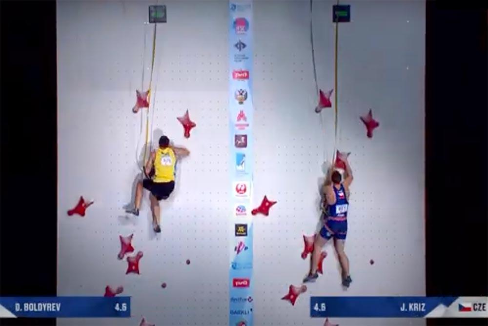 Danylo Boldyrev a Jan Kříž v prvním finálovém kole