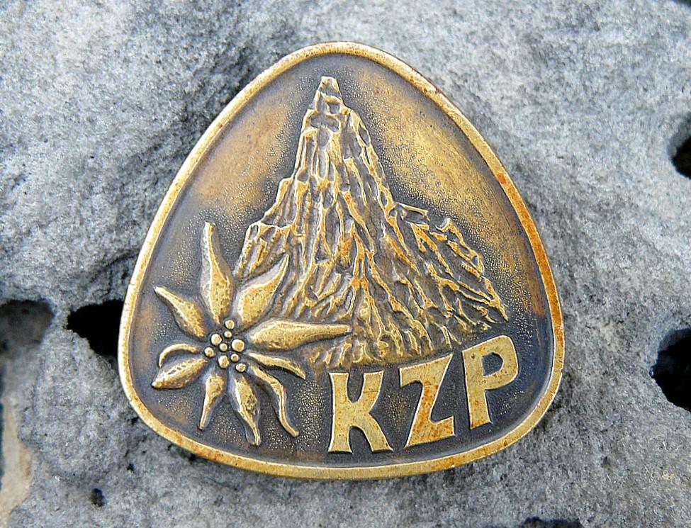 """Odznak KZP vytvořil Vladimír """"Chroust"""" Procházka II."""