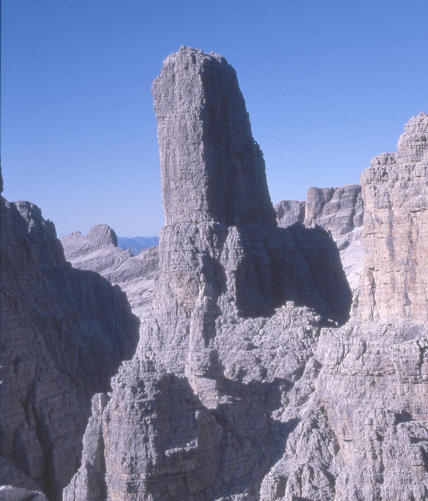 Campanile Basso V stěna