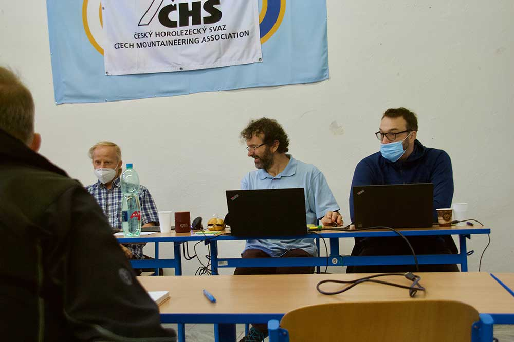 Petr Resch, Honza Bloudek a Marek Klíma