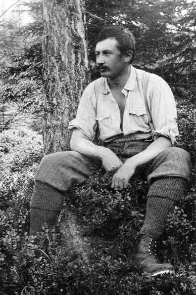Otto Ampferer kolem r. 1900