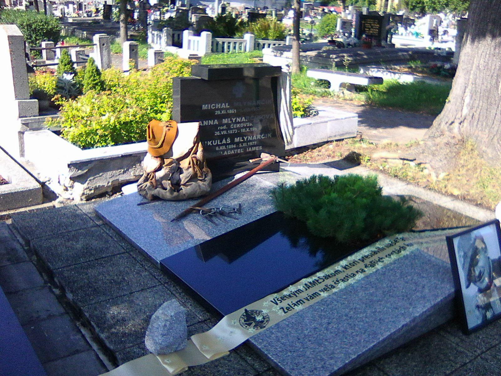 Hrob Mikuláše Mlynarčíka