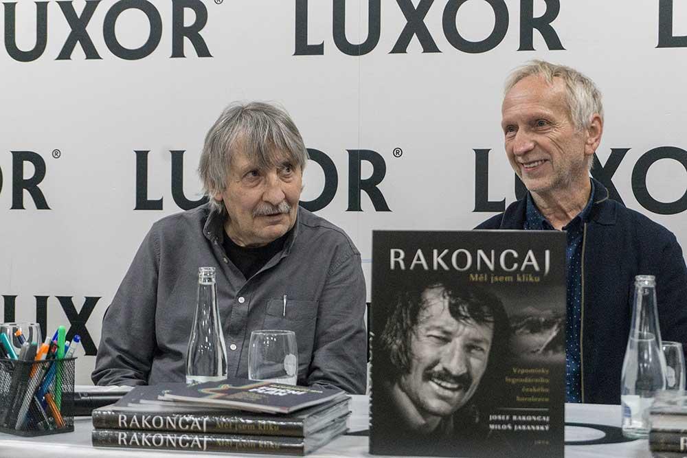 Autoři knihy Josef Rakoncaj a Miloň Jasanský